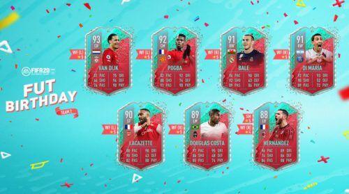 fifa 20 fut birthday team 2 revealed