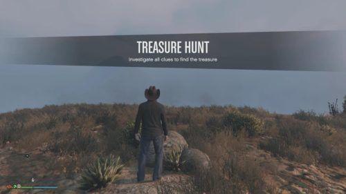treasure hunt gta online