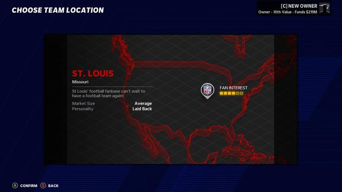 madden 21 relocation st louis