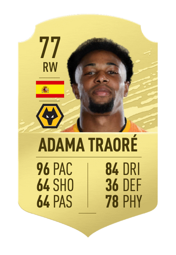UPGRADES - Traore switched silver for gold in FIFA 20