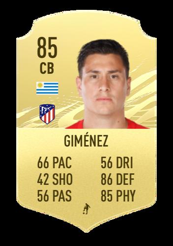 gimenez FIFA 22