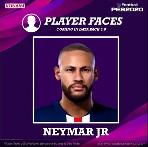 Neymar pes 2020 data pack 6