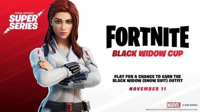 fortnite black widow cup