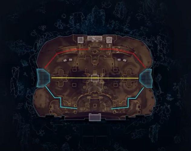 Apex Legends Encore Arenas Map