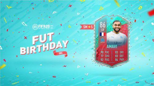 FUT Birthday Amavi EA Promo