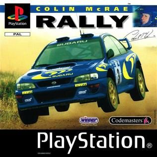 Colin McRae Rally cover from 1998