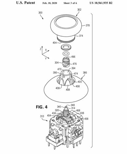 Thumbstick Patent Xbox Series X