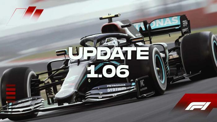 f1 2020 update 1 06 black mercedes