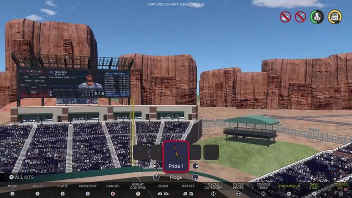 MLB The Show 21 Stadium Creator Online Offline Props