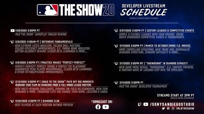 mlb the show 20 stream schedule 2048x1152 1