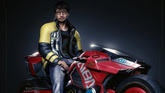 CAMEO: Earlier this year CD Projekt Red made a mock-up of Kojima in Cyberpunk 2077.