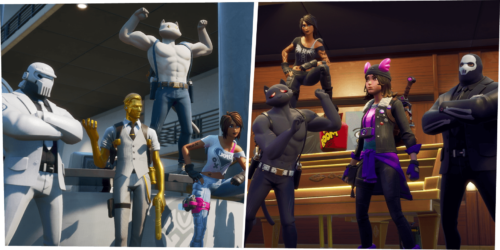 Team Ghost vs Team Shadow