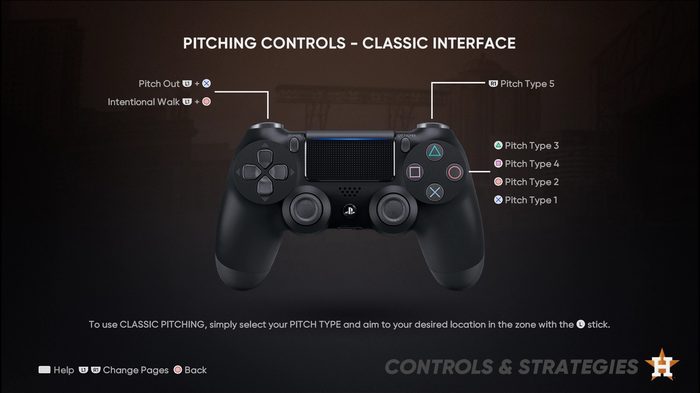 MLB The Show 21 Pitching Guide Controls Classic Interface