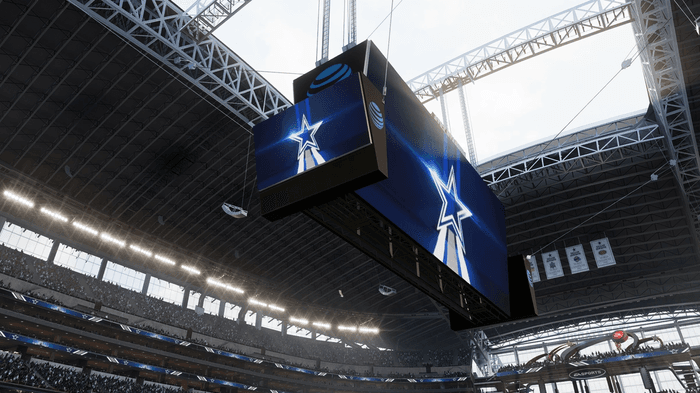 Madden 22 gameday home field advantage dallas cowboys m-factor deflected dynamic next gen new features