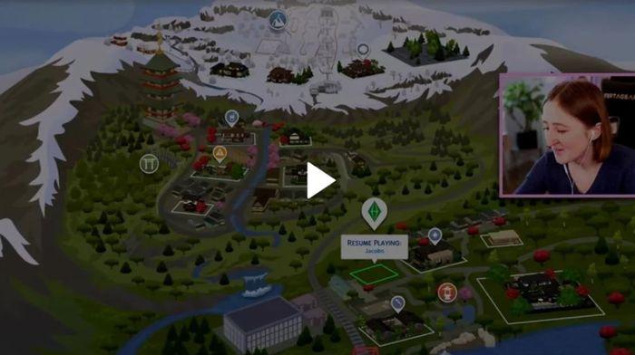 the sims 4 snowy escape map leak