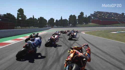 MotoGP 20 Catalan GP Turn 1 Circuit de Catalunya
