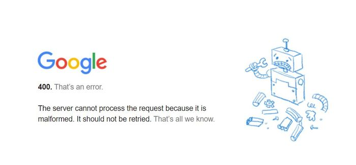 ACCESS DENIED - Google services appear to be down
