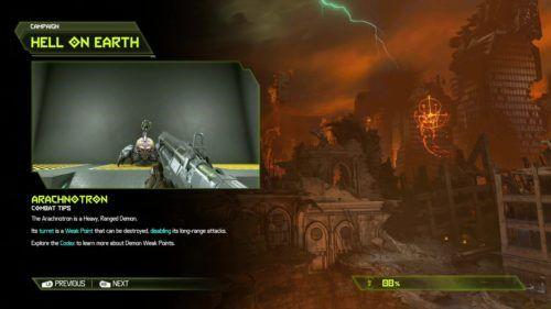 Doom eternal review loading screen tutorial
