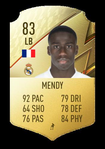 FIFA 22 Ferland Mendy