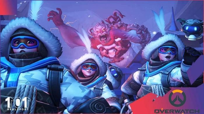 Overwatch Winter Wonderland Yeti Hunter Game Mode