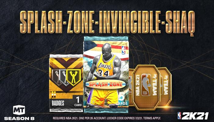 NBA 2K21 Splash Zone Locker Code