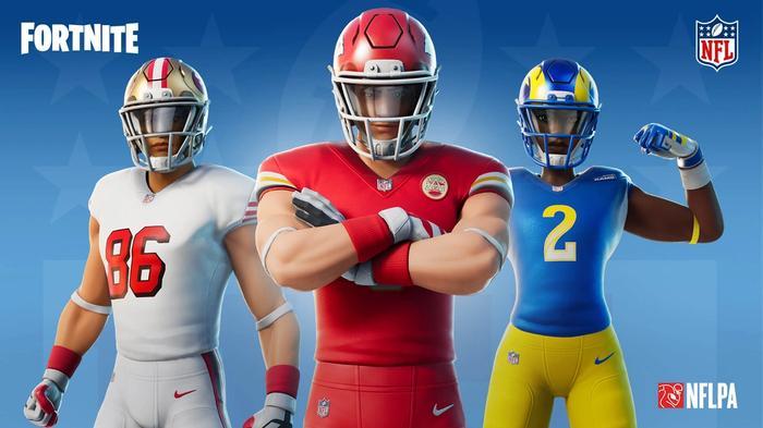 Fortnite NFL Skins Gridiron Gang Rumble LTM