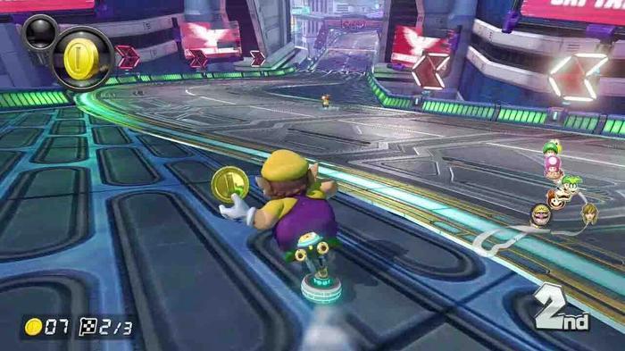 Mario Kart Track Limits