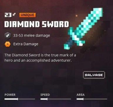 diamond sword mcdungeons