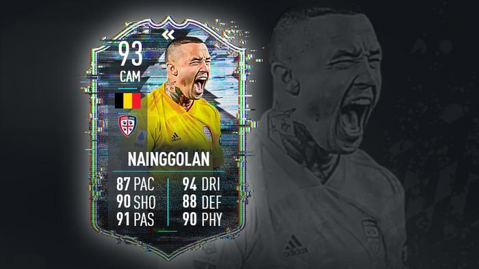 The new TOTS Flashback SBC Radja Nainggolan FIFA 21