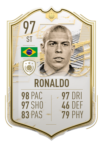 Ronaldo fifa 21 ultimate team icon moments