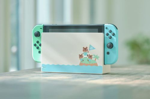 Animal Crossing: New Horizons Switch console & dock