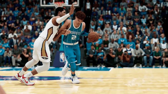 NBA 2K22 lamelo ball josh hart gameplay