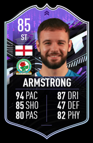 ONE PAIR: Two squads need to be submitted to get Armstrong