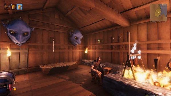 Valheim Interior Hut