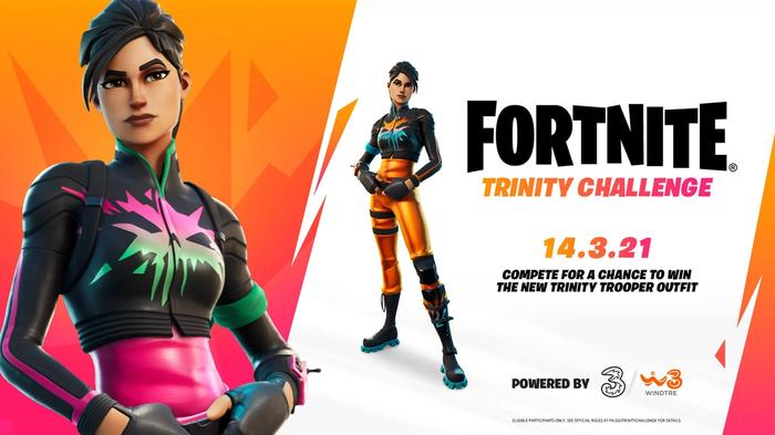 Fortnite Trinity Challenge Key Art