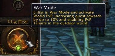 WoW Shadowlands War Mode Leveling