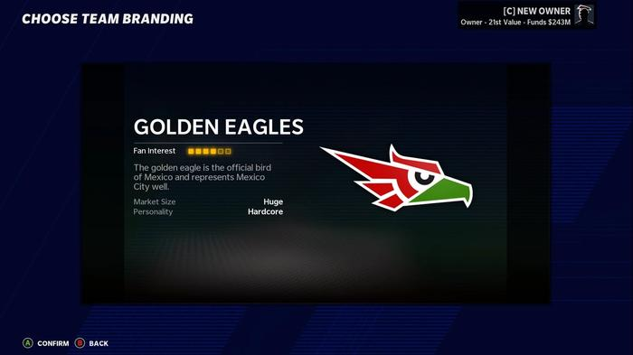 rsz madden 21 relocation mexico city golden eagles