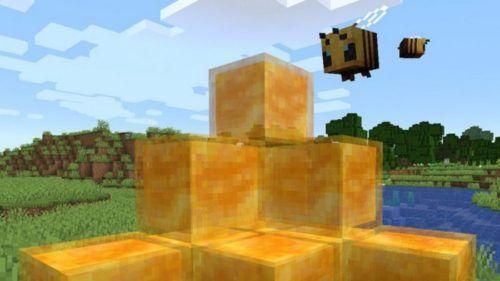 minecraft honey block 1