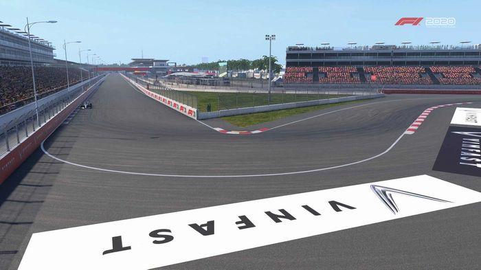 F1 2020 Vietnam turn 1
