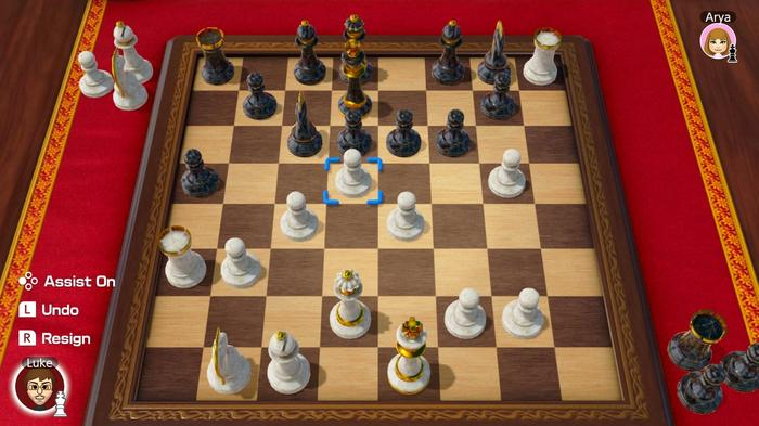51 Worldwide Games Nintendo Switch Chess Key Art