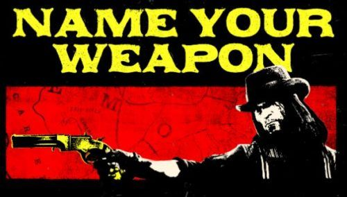 red dead online name your weapon