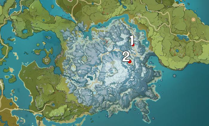 Genshin Impact map locations