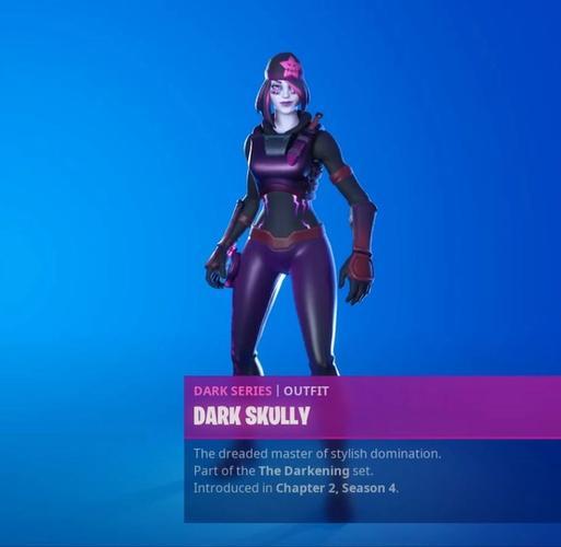 fortnite season 4 dark skully leaked skins