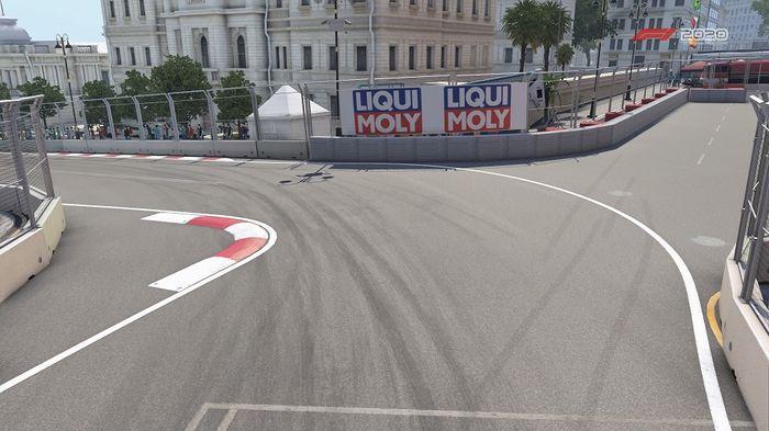 Azerbaijan GP Baku Street Circuit Turn 15