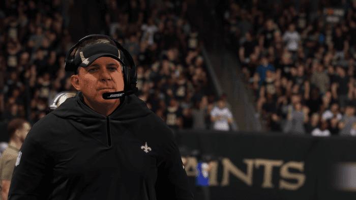 Madden 22 Sean Payton New Orleans Saints Ratings