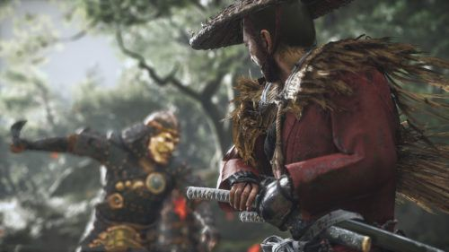 Ghost of Tsushima PS5 release
