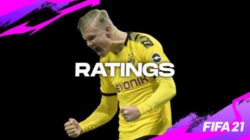 FIFA 21 ratings haaland