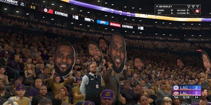 NBA 2K21 Crowds