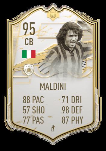 paolo maldini icon moments fifa 21 ultimate team