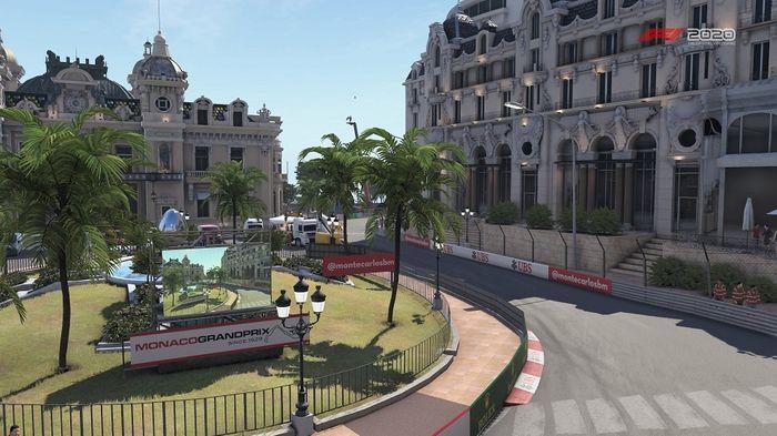 Monaco GP Turns 3 4 Massenet Casino